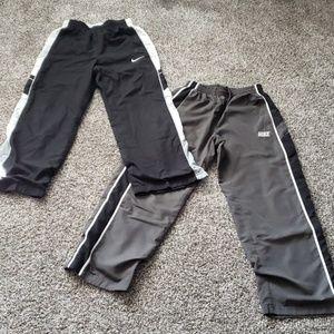 EUC ... 2 pairs of Nike Medium Windpants